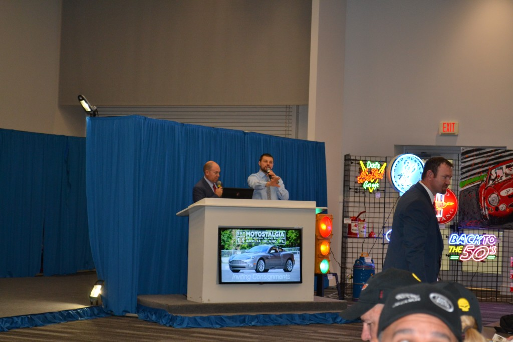 Collector Car Auctioneer with Motostalgia