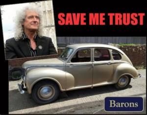 Brian May classic car Jowlett Javelin
