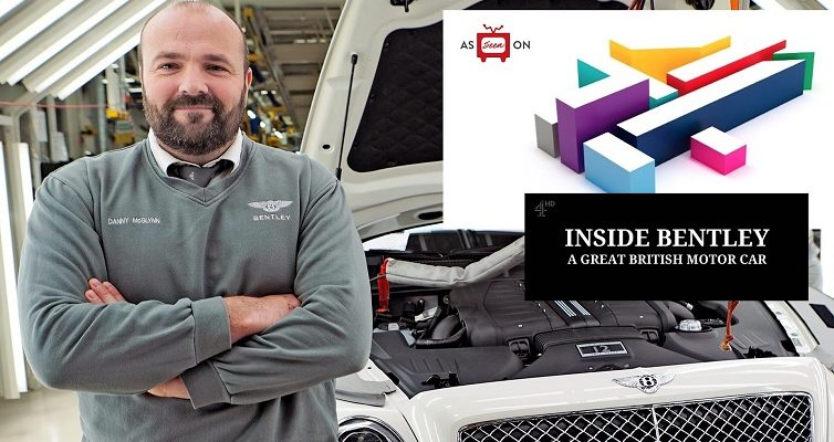 As seen on Channel 4's Inside Bentley TV show